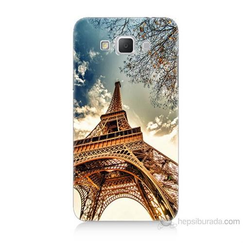 Teknomeg Samsung Galaxy Grand Max Eyfel Kulesi Baskılı Silikon Kılıf