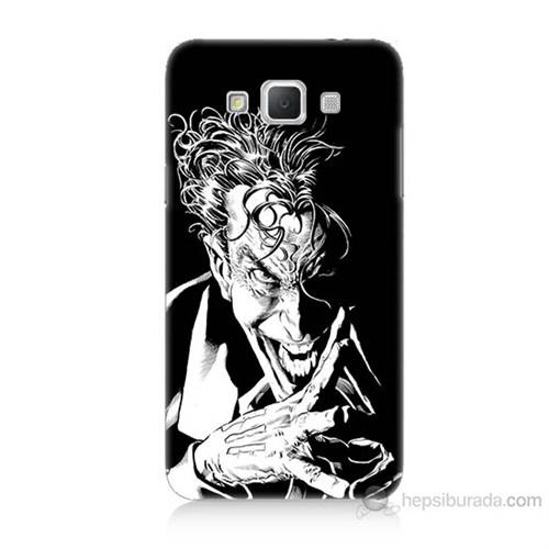 Teknomeg Samsung Galaxy Grand Max Gülen Joker Baskılı Silikon Kılıf