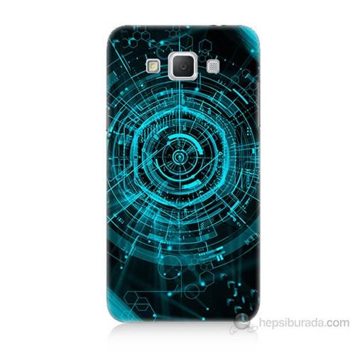 Teknomeg Samsung Galaxy Grand Max Asit Baskılı Silikon Kılıf