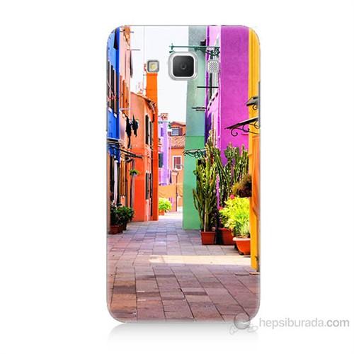 Teknomeg Samsung Galaxy Grand Max Sokak Baskılı Silikon Kılıf