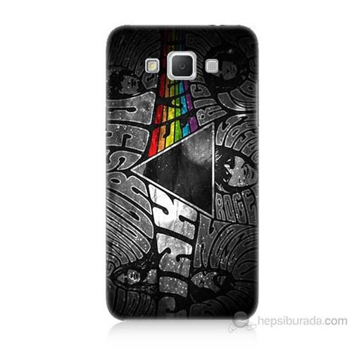 Teknomeg Samsung Galaxy Grand Max Pink Floyd Baskılı Silikon Kılıf