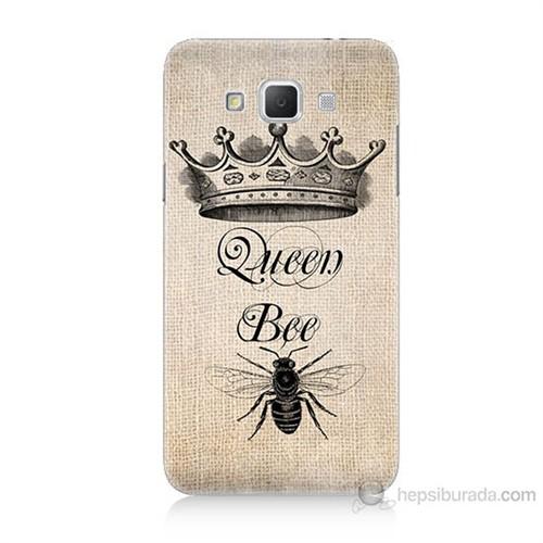 Teknomeg Samsung Galaxy Grand Max Queen Bee Baskılı Silikon Kılıf