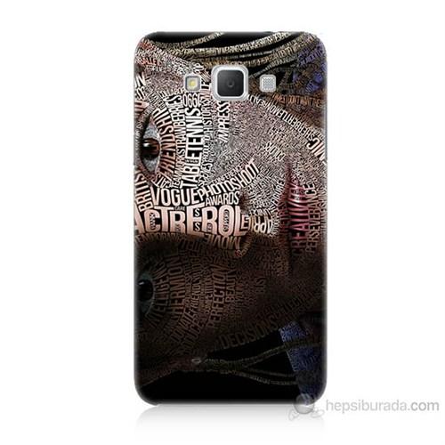 Teknomeg Samsung Galaxy Grand Max Yazılı Kadın Baskılı Silikon Kılıf