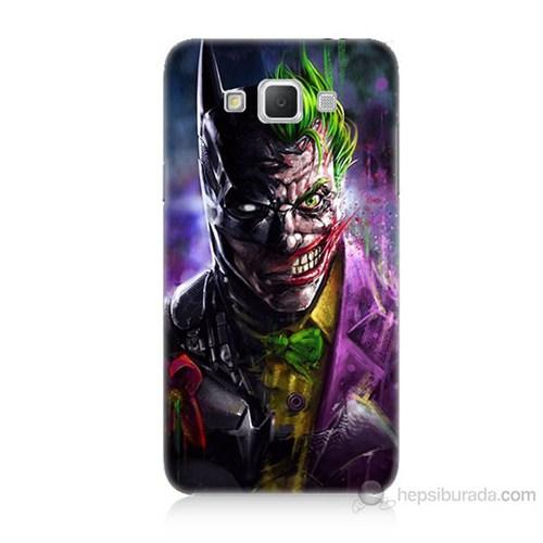 Teknomeg Samsung Galaxy Grand Max Batman Vs Joker Baskılı Silikon Kılıf