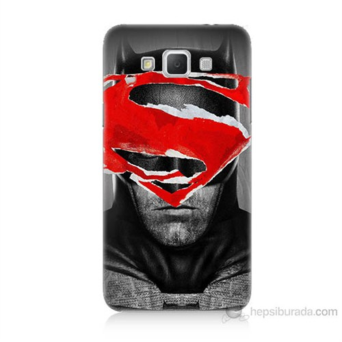 Teknomeg Samsung Galaxy Grand Max Batman Vs Superman Baskılı Silikon Kılıf