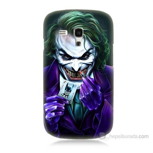 Teknomeg Samsung Galaxy S3 Mini Joker Baskılı Silikon Kılıf