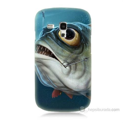 Teknomeg Samsung Galaxy S3 Mini Balık Baskılı Silikon Kılıf