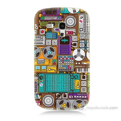 Teknomeg Samsung Galaxy S3 Mini Teknoloji Baskılı Silikon Kılıf