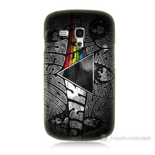 Teknomeg Samsung Galaxy S3 Mini Pink Floyd Baskılı Silikon Kılıf