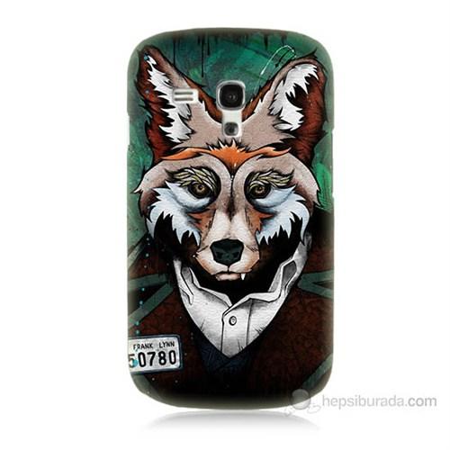 Teknomeg Samsung Galaxy S3 Mini Bad Wolf Baskılı Silikon Kılıf