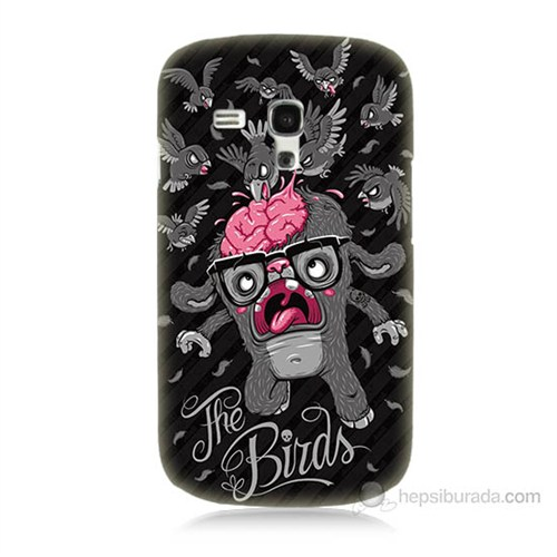 Teknomeg Samsung Galaxy S3 Mini The Birds Baskılı Silikon Kılıf