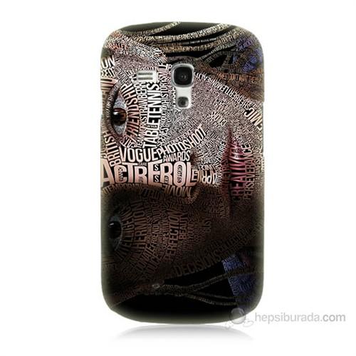 Teknomeg Samsung Galaxy S3 Mini Yazılı Kadın Baskılı Silikon Kılıf