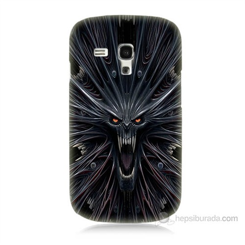 Teknomeg Samsung Galaxy S3 Mini Korku Canavarı Baskılı Silikon Kılıf