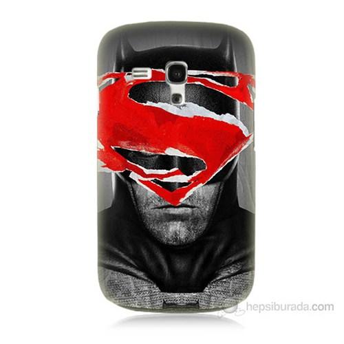 Teknomeg Samsung Galaxy S3 Mini Batman Vs Superman Baskılı Silikon Kılıf