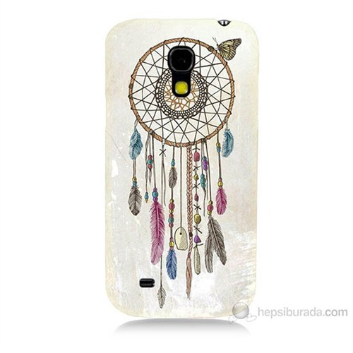 Teknomeg Samsung Galaxy S4 Mini Dream Catcher Baskılı Silikon Kılıf