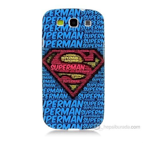 Teknomeg Samsung Galaxy S3 Süpermen Baskılı Silikon Kılıf