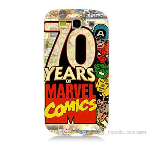 Teknomeg Samsung Galaxy S3 Marvel Karakterleri Baskılı Silikon Kılıf