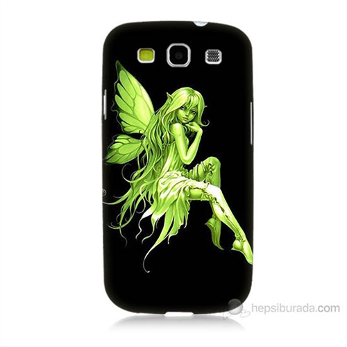 Teknomeg Samsung Galaxy S3 Peri Kızı Baskılı Silikon Kılıf