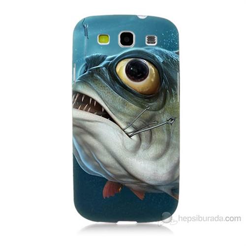 Teknomeg Samsung Galaxy S3 Balık Baskılı Silikon Kılıf