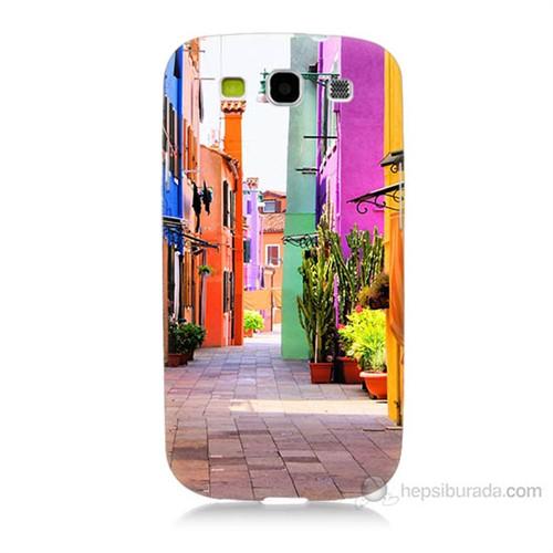Teknomeg Samsung Galaxy S3 Sokak Baskılı Silikon Kılıf