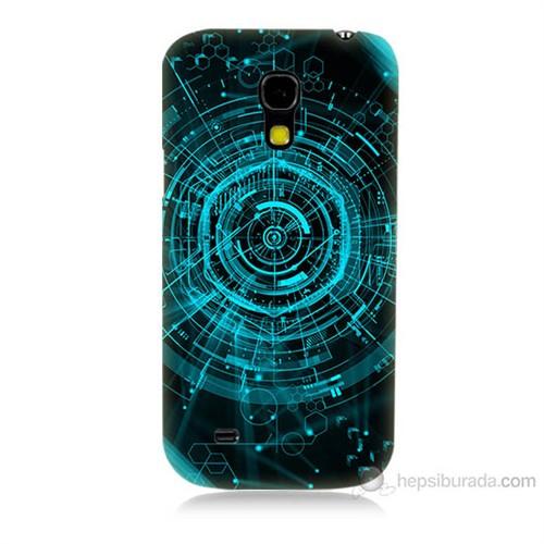 Teknomeg Samsung Galaxy S4 Mini Asit Baskılı Silikon Kılıf