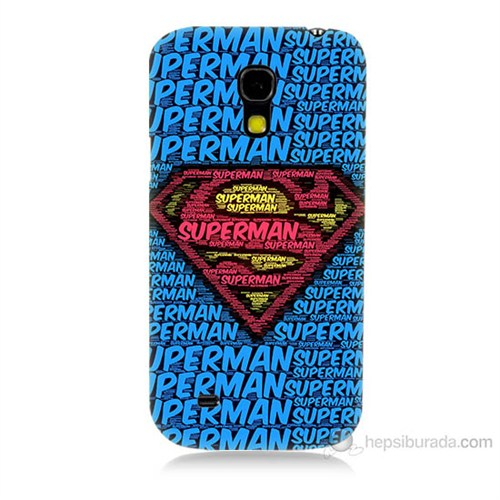 Teknomeg Samsung Galaxy S4 Mini Süpermen Baskılı Silikon Kılıf