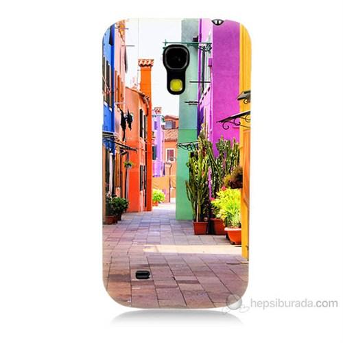 Teknomeg Samsung Galaxy S4 Mini Sokak Baskılı Silikon Kılıf