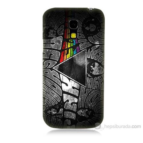 Teknomeg Samsung Galaxy S4 Mini Pink Floyd Baskılı Silikon Kılıf