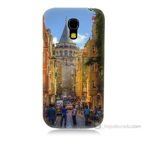 Teknomeg Samsung Galaxy S4 Mini Galata Kulesi Baskılı Silikon Kılıf