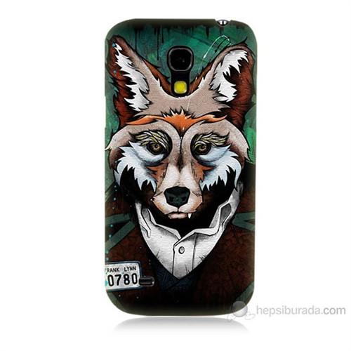 Teknomeg Samsung Galaxy S4 Mini Bad Wolf Baskılı Silikon Kılıf