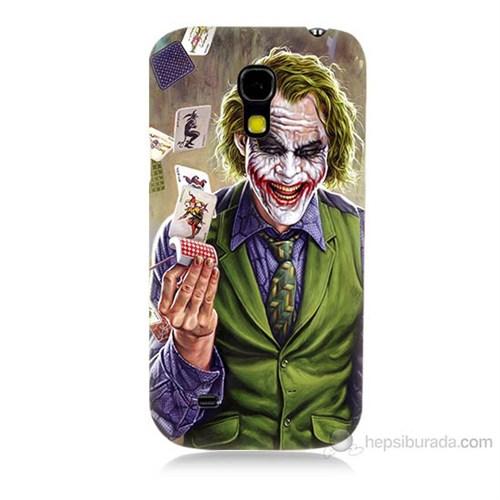 Teknomeg Samsung Galaxy S4 Mini Kartlı Joker Baskılı Silikon Kılıf