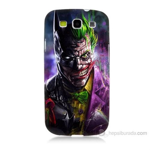 Teknomeg Samsung Galaxy S3 Batman Vs Joker Baskılı Silikon Kılıf