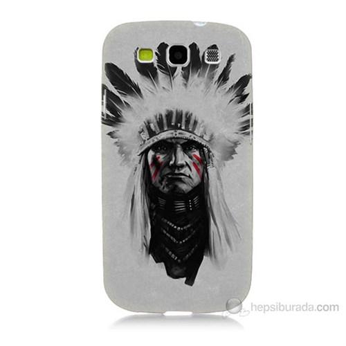 Teknomeg Samsung Galaxy S3 Geronimo Baskılı Silikon Kılıf