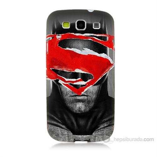 Teknomeg Samsung Galaxy S3 Batman Vs Superman Baskılı Silikon Kılıf