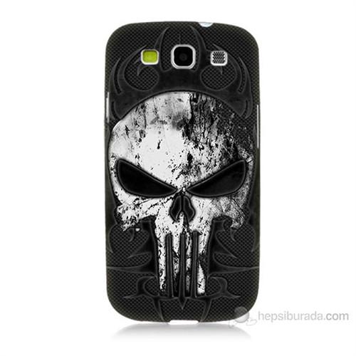 Teknomeg Samsung Galaxy S3 Punnisher Kurukafa Baskılı Silikon Kılıf