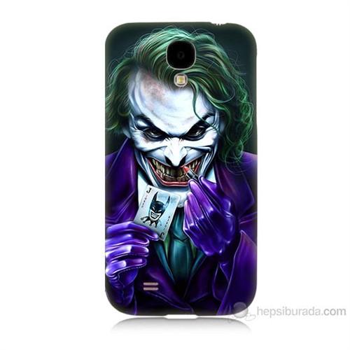 Teknomeg Samsung Galaxy S4 Joker Baskılı Silikon Kılıf