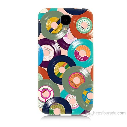 Teknomeg Samsung Galaxy S4 Renkli Plaklar Baskılı Silikon Kılıf