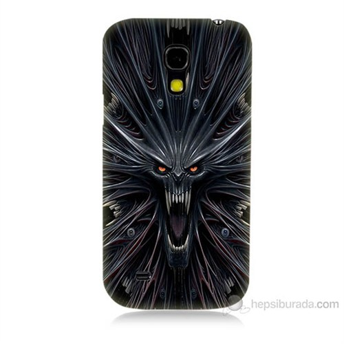 Teknomeg Samsung Galaxy S4 Mini Korku Canavarı Baskılı Silikon Kılıf