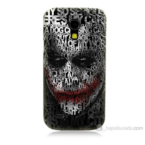 Teknomeg Samsung Galaxy S4 Mini Joker Baskılı Silikon Kılıf