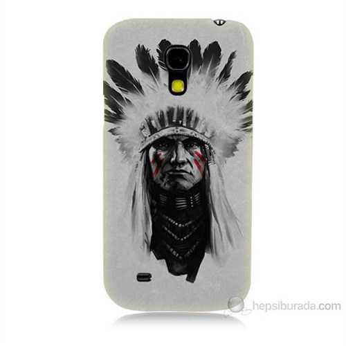 Teknomeg Samsung Galaxy S4 Mini Geronimo Baskılı Silikon Kılıf