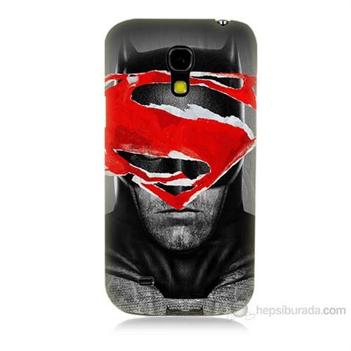 Teknomeg Samsung Galaxy S4 Mini Batman Vs Superman Baskılı Silikon Kılıf
