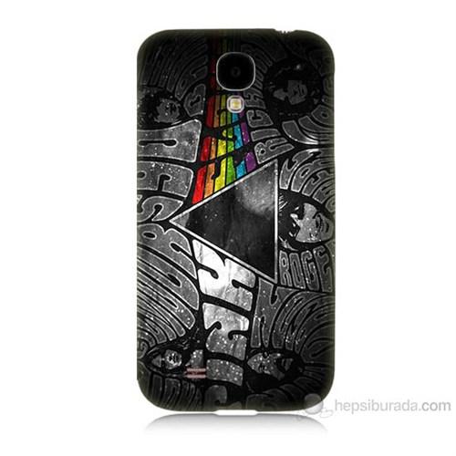 Teknomeg Samsung Galaxy S4 Pink Floyd Baskılı Silikon Kılıf