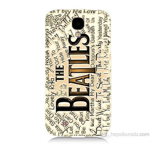 Teknomeg Samsung Galaxy S4 The Beatles Baskılı Silikon Kılıf
