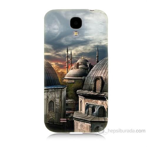 Teknomeg Samsung Galaxy S4 Cami Baskılı Silikon Kılıf