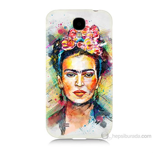 Teknomeg Samsung Galaxy S4 Frida Baskılı Silikon Kılıf
