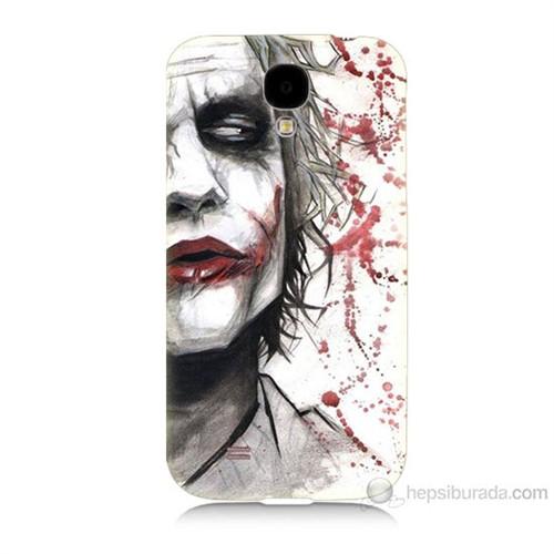 Teknomeg Samsung Galaxy S4 Kanlı Joker Baskılı Silikon Kılıf