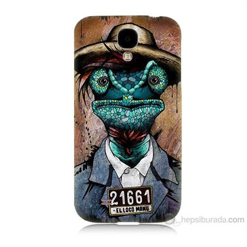 Teknomeg Samsung Galaxy S4 İguana Adam Baskılı Silikon Kılıf