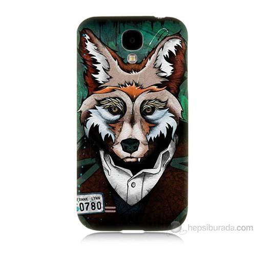 Teknomeg Samsung Galaxy S4 Bad Wolf Baskılı Silikon Kılıf
