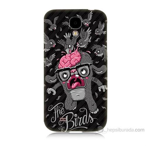 Teknomeg Samsung Galaxy S4 The Birds Baskılı Silikon Kılıf