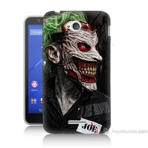 Teknomeg Sony Xperia E4G Joker Joe Baskılı Silikon Kılıf